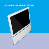 21.5 дюйма СИД LCD рекламируя рамку цифров