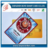 Barcode를 가진 ISO7811 Em4200 Membership Smart RFID Card