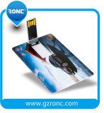 movimentação da pena do USB do cartão de crédito do presente da promoção 1GB