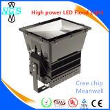 Poder superior 400W luz de inundação do diodo emissor de luz de 1000 watts com excitador e CREE de Meanwell