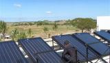 Sistema de aquecedor de água solar com placa plana ativa isolada - Loop aberto / Loop fechado