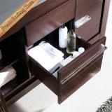 Het houten Moderne Kabinet van de Ijdelheid van de Badkamers