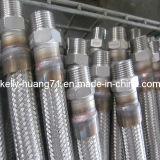 Manguera trenzada del metal flexible del acero inoxidable