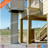 Levage électrique d'étage/prix vertical domestique handicapé de plate-forme de levage de fauteuil roulant