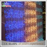 Indicatore luminoso della tenda della decorazione LED della visualizzazione di natale di cerimonia nuziale