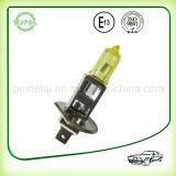 Luz de névoa do carro do halogênio do farol H1 12V/lâmpada amarelas
