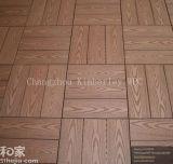 木製の穀物WPC固体DIYの床