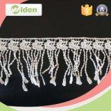 Modelo de lujo para el cordón floral del producto químico de la tela del cordón de la venta caliente
