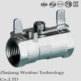 Guang Tipo Monoblock Reduced Puerto Válvula de bola de acero inoxidable