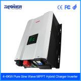 12kw 48V de Hybride ZonneOmschakelaar van gelijkstroom 220V AC met het Controlemechanisme van de Last MPPT