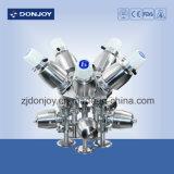 válvula de diafragma neumática 316L con los actuadores de los Ss (extremos de la abrazadera)