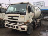 De Vrachtwagen van de Concrete Mixer van Nissan Ud van de hand-hydraulisch-Transformatie 6*4-LHD-Drive van Shanghai 6~8cbm/10~20ton