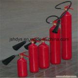 Konvexer legierter Stahl CO2 Feuerlöscher der Unterseiten-10kg (Zylinder: EN1964-1)