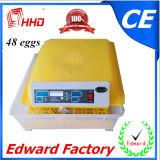 판매를 위한 휴대용 자동적인 닭 계란 부화기