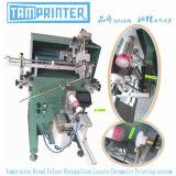 자동적인 두는 색깔 - 담합 시스템 플라스틱 병 스크린 인쇄 기계