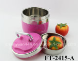 Stainless Steel Multicolor Thermal Pot with Round Hand (FT-2415 It)