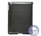 iPad 2를 위한 높은 Luxury 100%년 Real Carbon Fiber Back Case 3 4