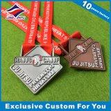 柔らかいエナメルが付いている2016個の最も新しい方法金属メダル