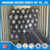 Rede de segurança da construção do HDPE das agulhas 100g do preto 7 da alta qualidade