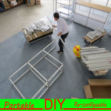 Cabina modular reutilizable ajustable de la feria profesional 3X6X2.5 del mueble nueva con almacenaje