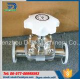 Extremos calientes de la abrazadera de la válvula de diafragma de la exportación de China