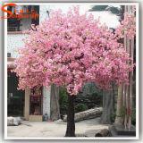Garten-Dekoration-Rosa-Kunstseide-Kirschblüten-Baum