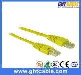 cable del remiendo de Al-Magnesio RJ45 UTP Cat5 de los 30m/cuerda de remiendo