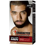 Para o uso do homem, capa cinza, capa de cabelo, tinta para cabelo