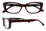 Het met de hand gemaakte Frame van Eyewear van de Manier van Eyewear van de Acetaat Nieuwe met Ce en FDA