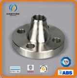 ASME B16.5 a modifié la bride d'acier inoxydable de collet de soudure (KT0223)