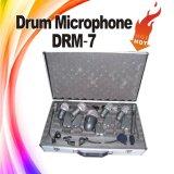 Jeu de microphone de tambour de l'instrument de musique DRM-7