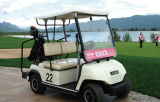 Blanco 2 eléctrico de los asientos de coche de golf (LT_A2)