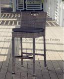 옥외 정원 Rattan Bar Table와 Bar Chars