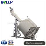 Tela do cilindro giratório de capacidade elevada na planta do tratamento da água