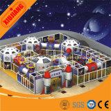 Тема космоса Айркрафт прокладывая спортивную площадку мягкой игры крытую для малышей