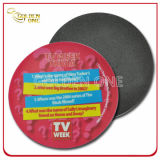 Prenda promocional Customized Fashion Colorful 3D Soft PVC Coaster