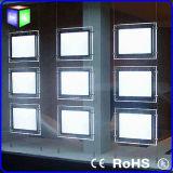 Il doppio ha rivestito casella chiara di cristallo d'attaccatura del LED