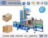 Maquinaria semi automática del embalaje del cartón para el embalaje y el lacre (MZ-05) del cartón
