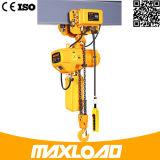 Prix électrique Sc200 d'élévateur à chaînes de double cage de 0.5 tonne