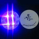 인쇄되는 로고를 가진 선전용 음료수잔 LED 병 스티커 (4040)