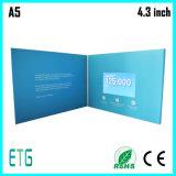 7 pulgadas de pantalla LCD Folleto de vídeo para el coche Publicidad