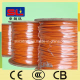 AS/NZS 5000.1 cable électrique orange rond de 3 noyaux
