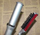 2 em 1 melhor encrespador de cabelo do preço com ferro de ondulação da escova auto