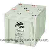 Solar Power System Battery 2V500ah for Medium Power 48V Pack