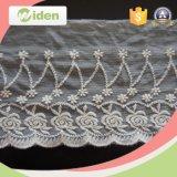 Organza-Gewebe-Wellen-Netz-Spitze-Vorhang-Gewebe-Schädel-Muster-Spitze