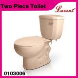 Cabinet d'aisance bon marché de système Siphonic 2PC de gicleur de poterie de forme ronde des prix