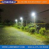 Lampe solaire professionnelle de route du réverbère du constructeur 15W DEL DEL