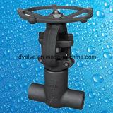 La norme ANSI 800lb/1500lb/2500lb a modifié les soupapes à vanne manuelles de l'acier A105