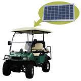 Carrito de golf con errores del golf con la copia del panel solar Del2022D2z