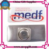 Metall gedrucktes Namensschild mit Drucken-Firmenzeichen (M-NP05)
